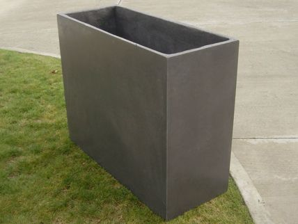 GRC Concrete Tall Planter 1000