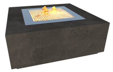 GRC Concrete outdoor fire pit, outdoor BBQ